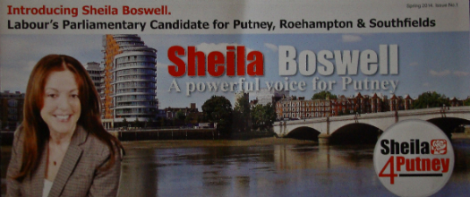 A newsletter from the Labour parliamentary candidate