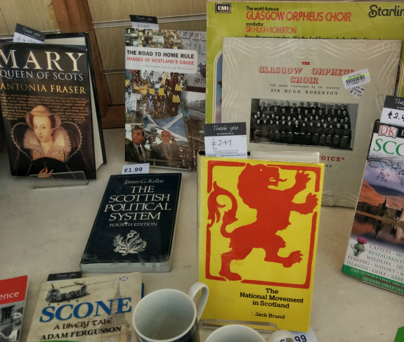 Books on Scottish politics, 2 days before the referendum on independence