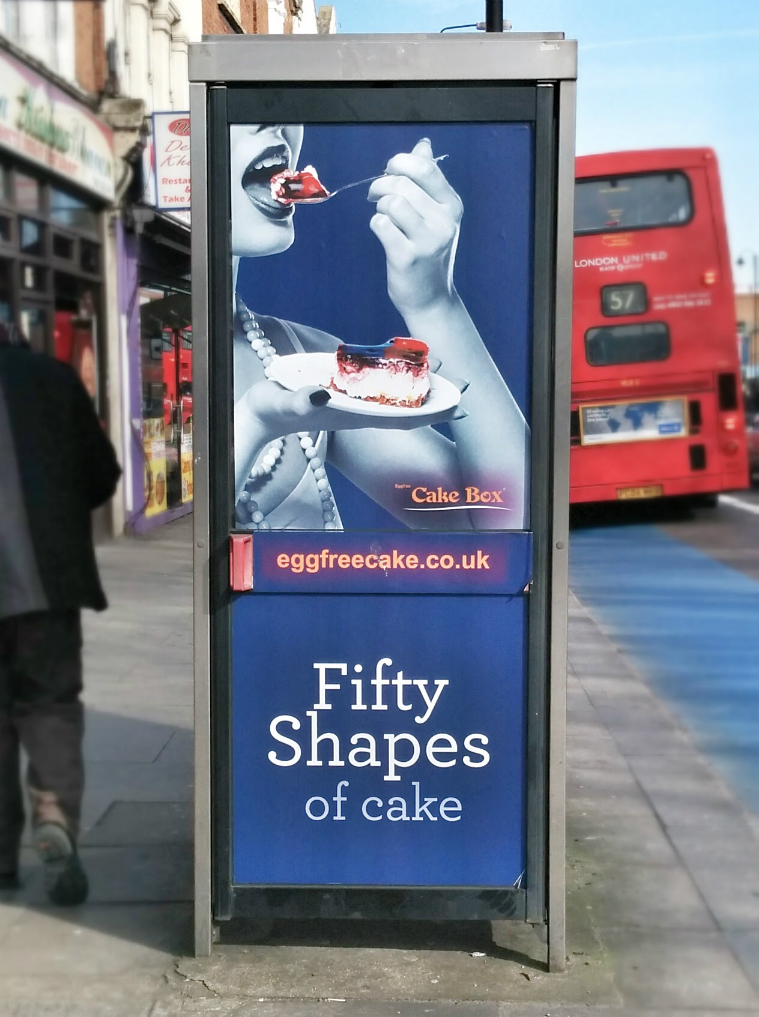 Fifty shapes of cake