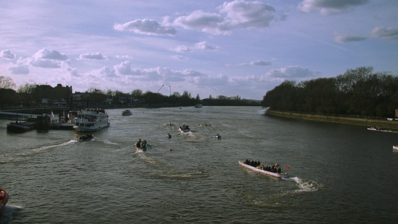 Men's race │ The Boat Races 2015