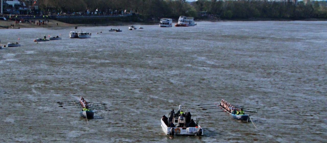 Women's race │ The Boat Races 2015