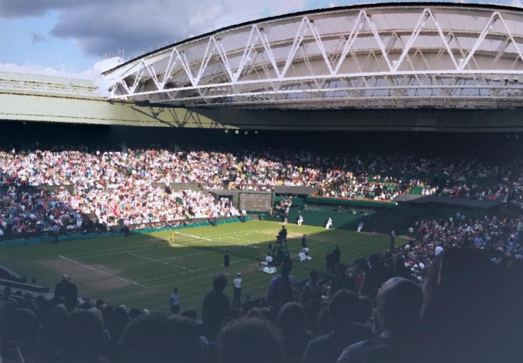 Wimbledon 2015: a decent view of the court