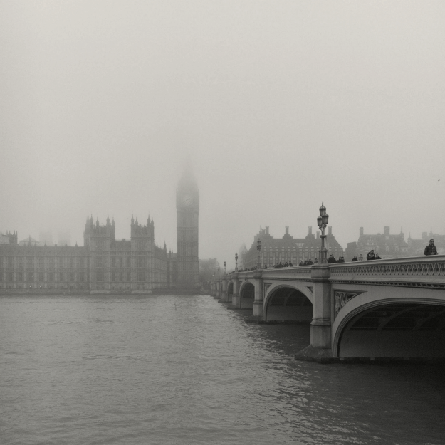 Westminster Bridge and Elizabeth Tower, Palace of Westminster