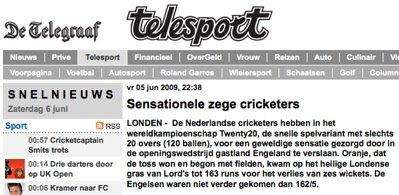 Dutch newspaper: screenshot (2/2)