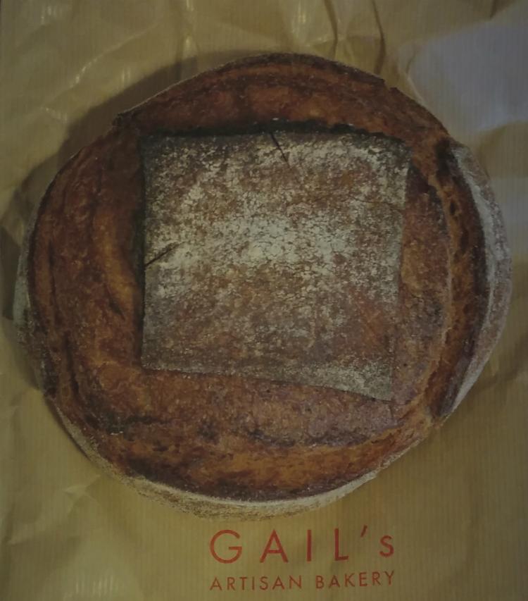 Gail's Artisan Bakery で買ったパン