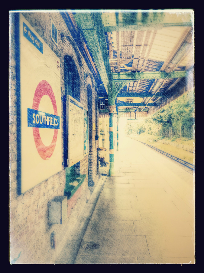 Southfields London Underground station: Google auto-awesome