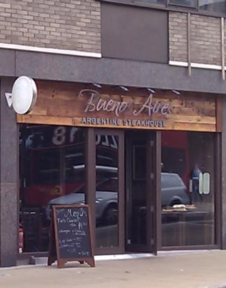 An Argentine steakhouse in Wimbledon