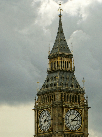 (Photograph) Palace of Westminster (Houses of Parliament), London