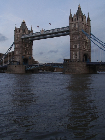 (Photograph) Tower of London and Tower Bridge, London