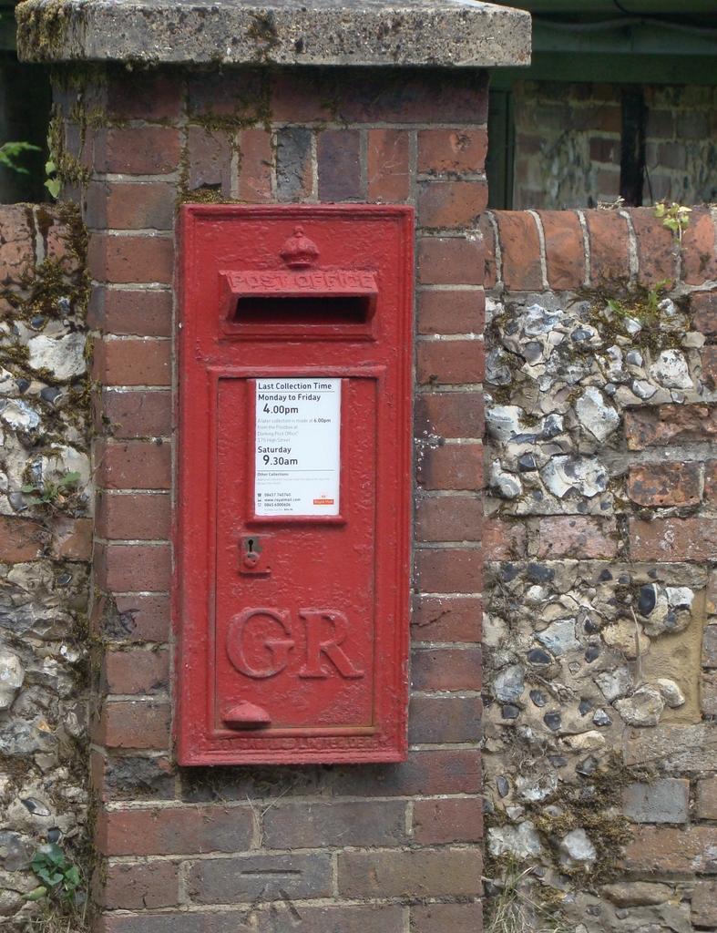 古い郵便ポスト(2013年8月10日)