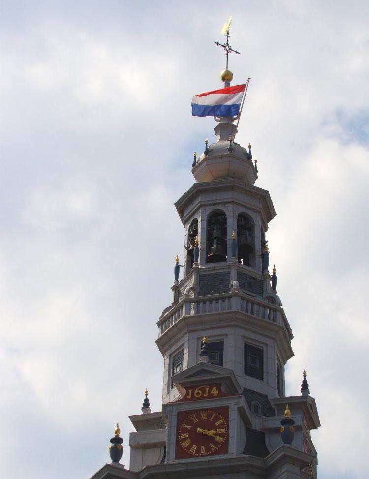 オランダ・アムステルダムの Zuiderkerk (南教会)の写真