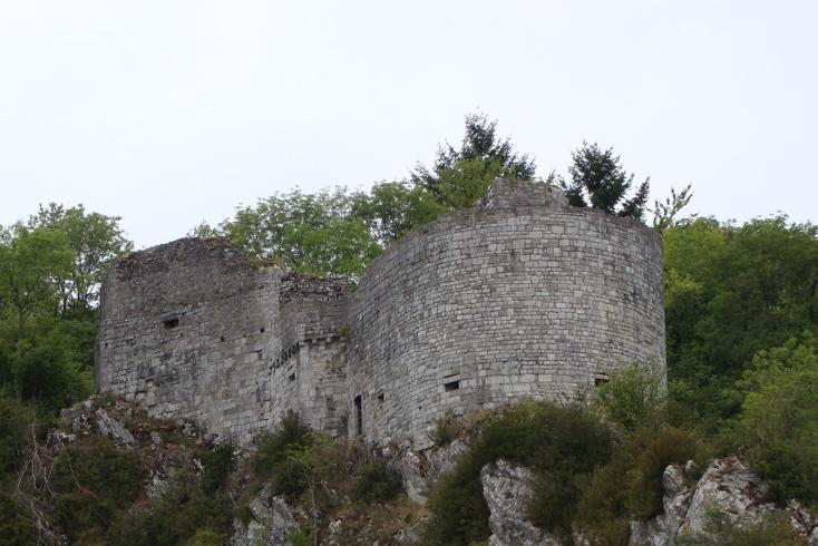 Photograph—Belgium: Bouvigne-sur-Meuse—Château de Crèvecœur