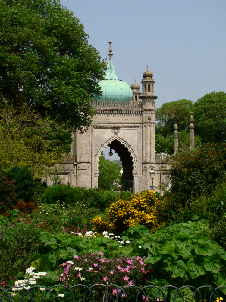Photograph of the North Gate, the Royal Pavilion, Brighton.