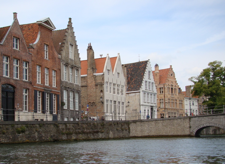 Photograph—Brugge (Bruges)—canal