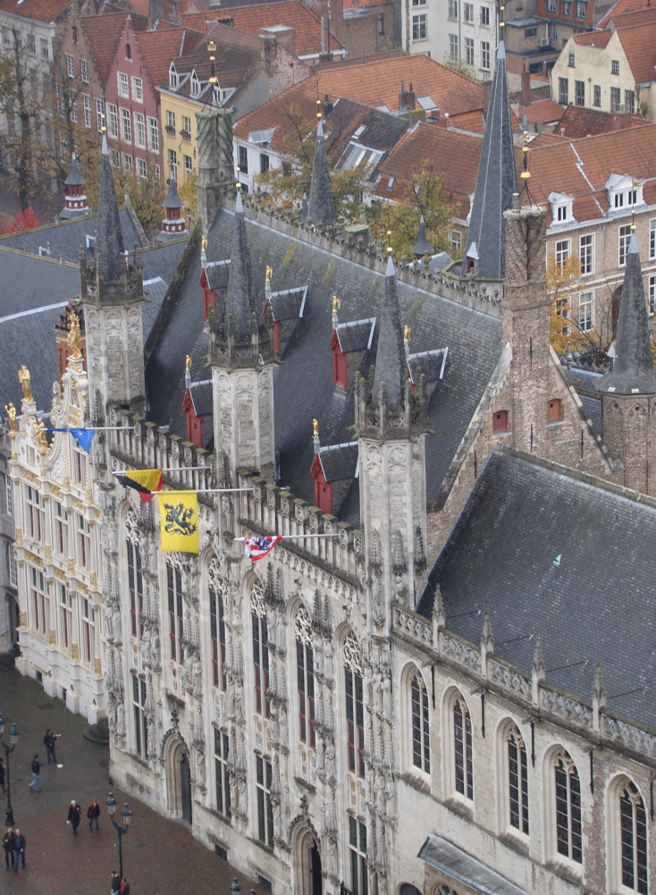 Photograph—Brugge (Bruges)—Stadhuis—City Hall