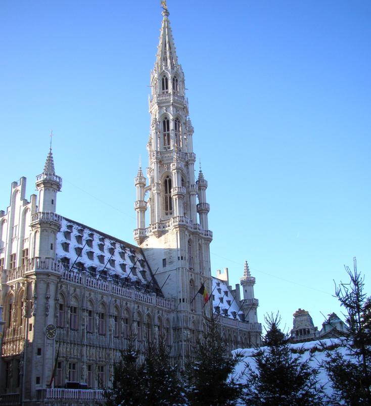Photograph—Brussels—Hôtel de Ville / Stadhuis—City Hall