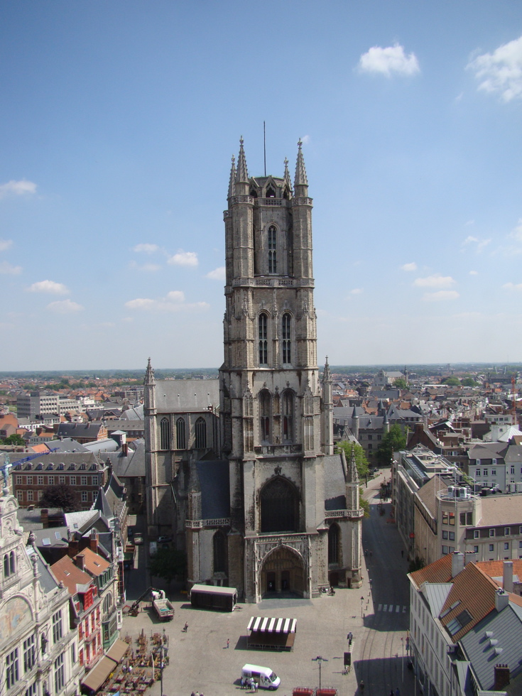 Gent Sint Baafskathedraal Sint-baafskathedraal st