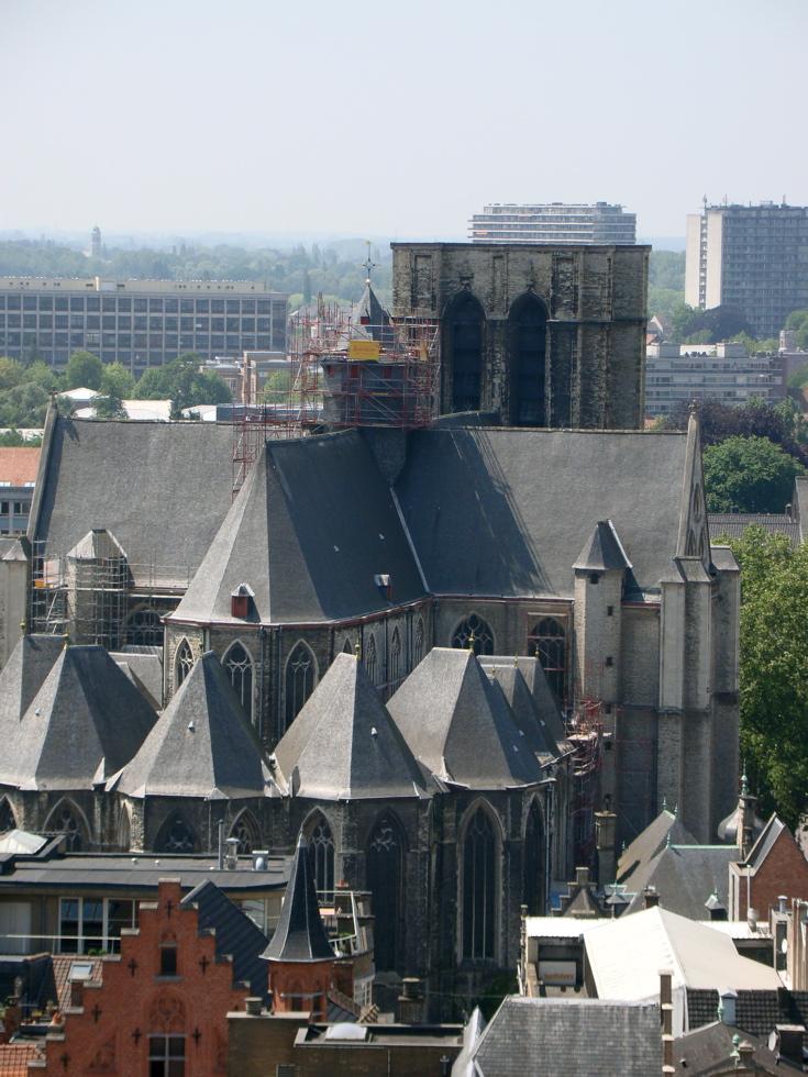 Photograph—Belgium—Ghent—Sint-Michielskerk │ Sint-Michielsplein, 9000 Gent