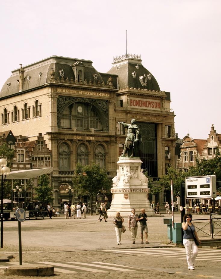 Photograph—Belgium—Ghent—Vrijdagmarkt