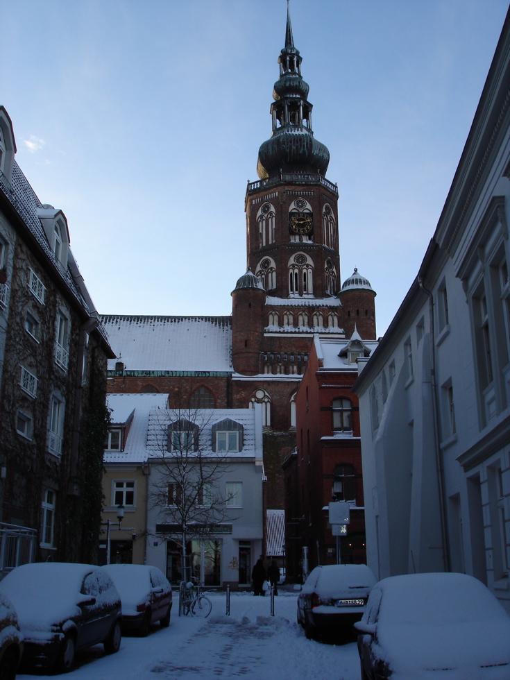 Photograph—Germany: Greifswald—Dom St Nikolai