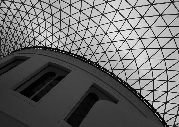 Photograph—London │ The Great Court inside the British Museum │ Photographed 5 November 2011