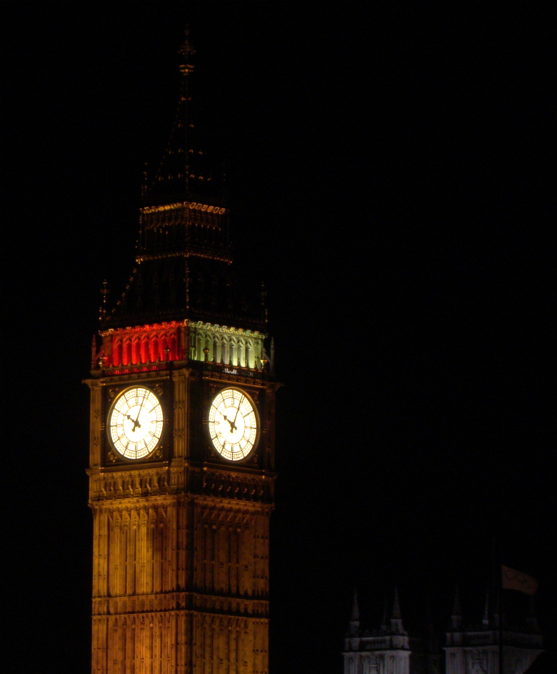 Clock Tower (Elizabeth Tower), Palace of Westminster, London
