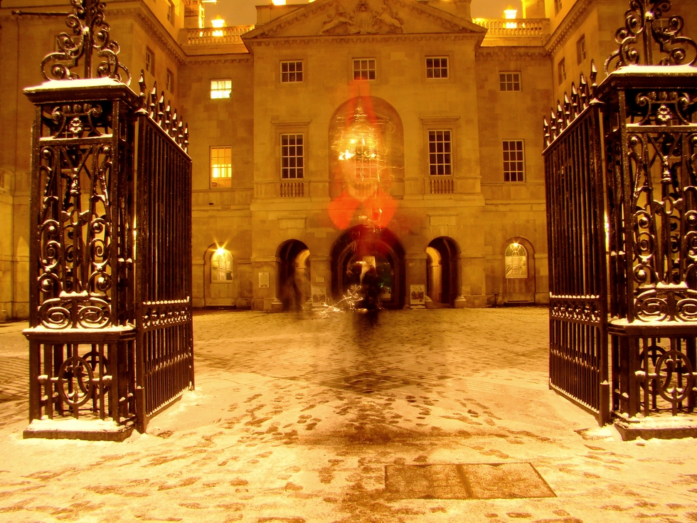 Horse Guards, London. 18 January 2013