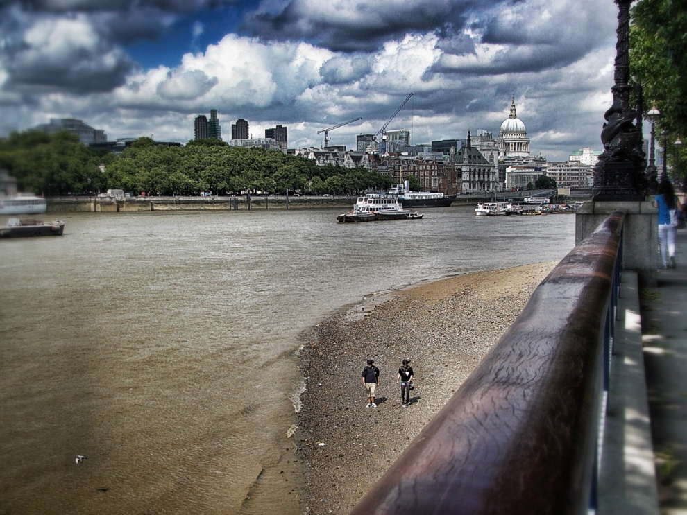A view of London—The Thames & St Paul's Cathedral