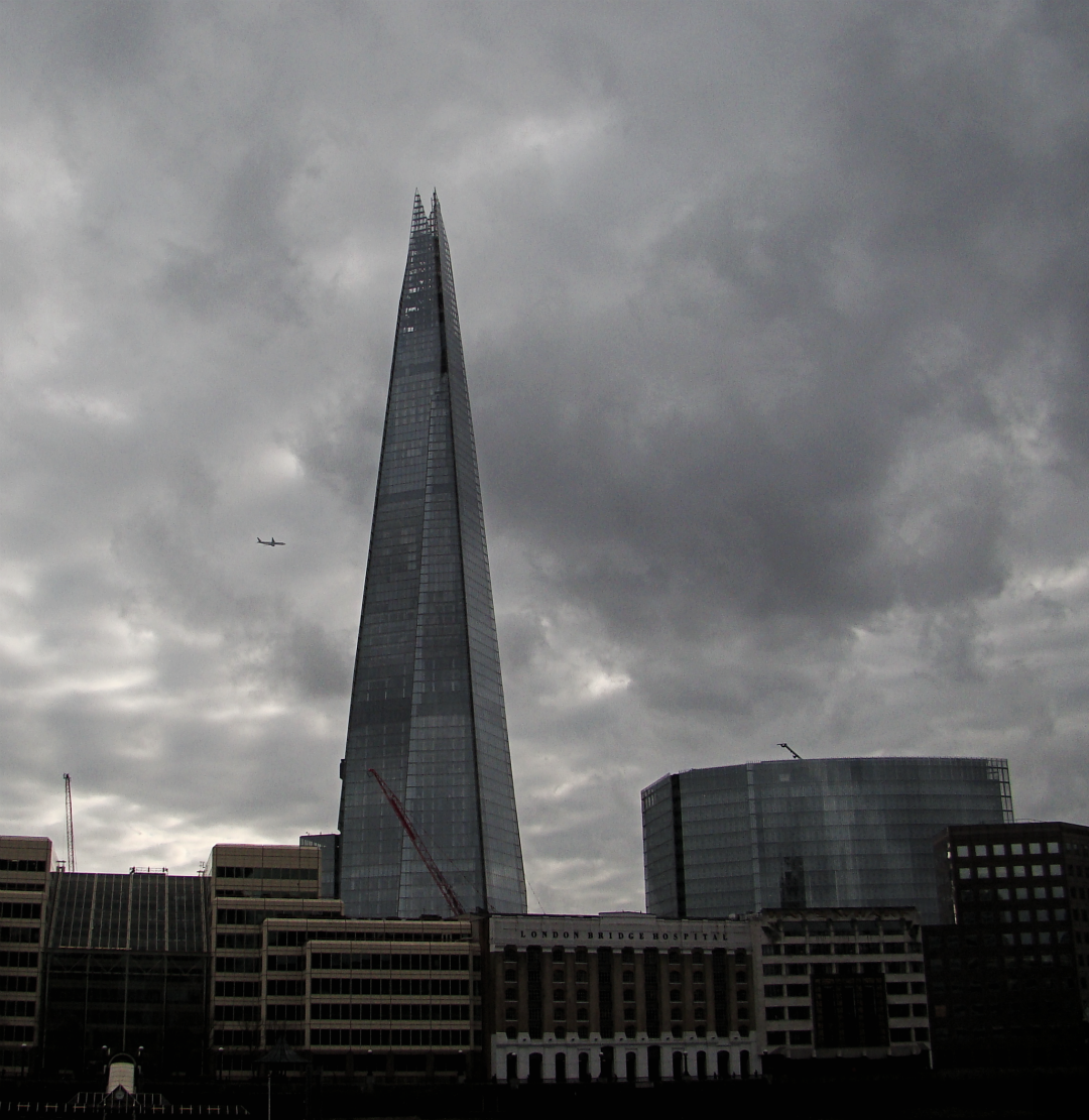 The Shard, London, photographed on 24 February 2014