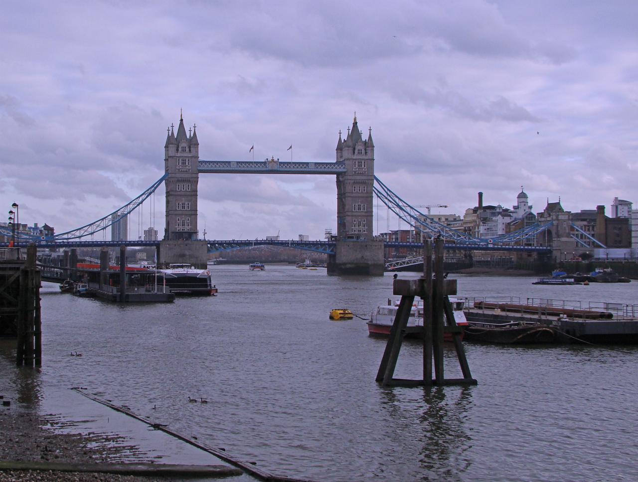 Tower Bridge, London, photographed on 24 February 2014
