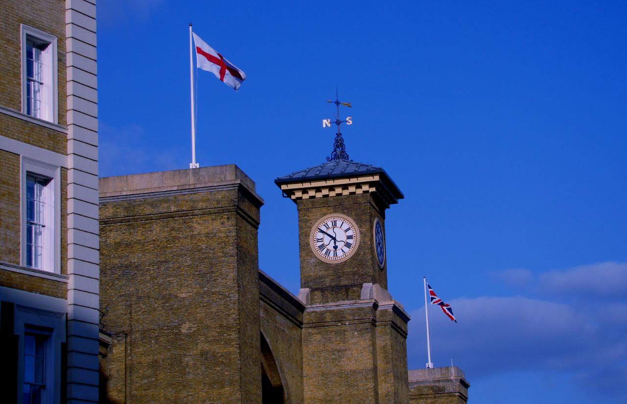 ロンドンのキングス・クロス駅の写真1葉。2014年4月9日撮影。