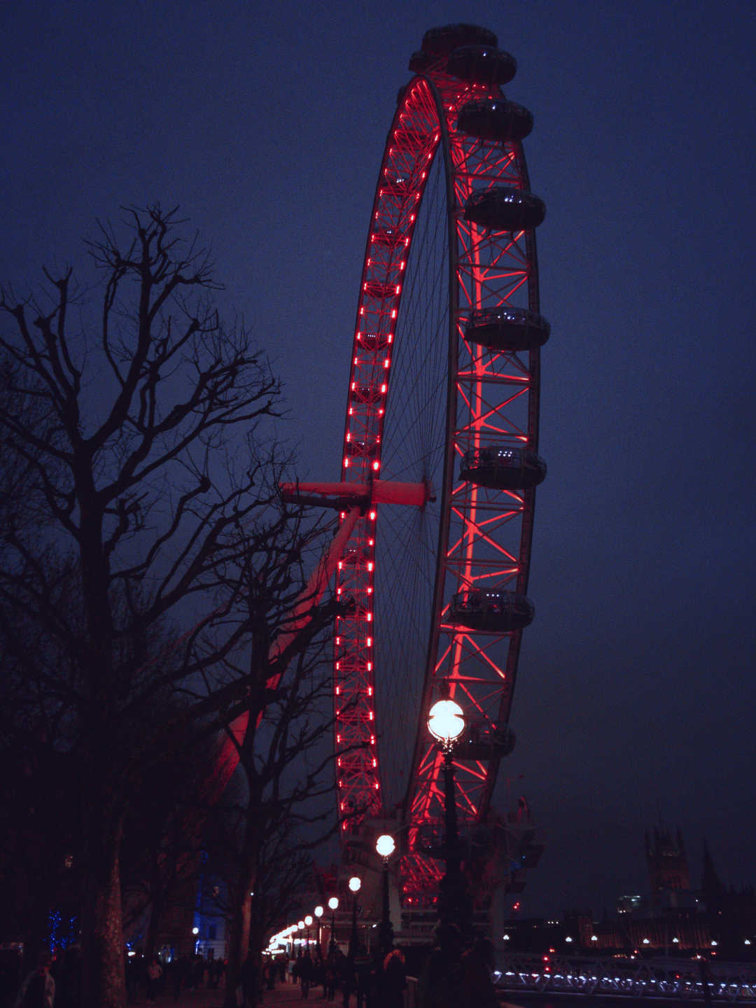 London Eye, photographed on 18 March 2016