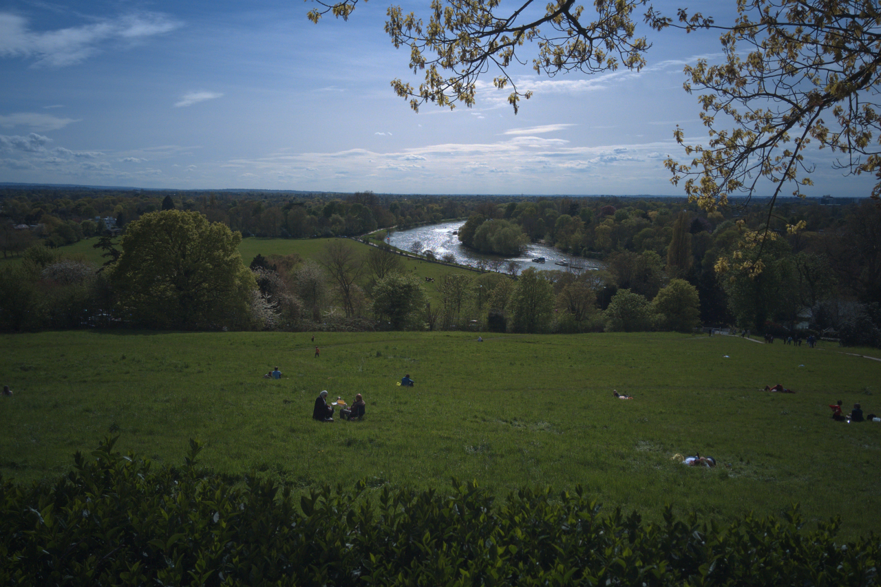 Richmond Hill, London, photographed on 1 May 2016