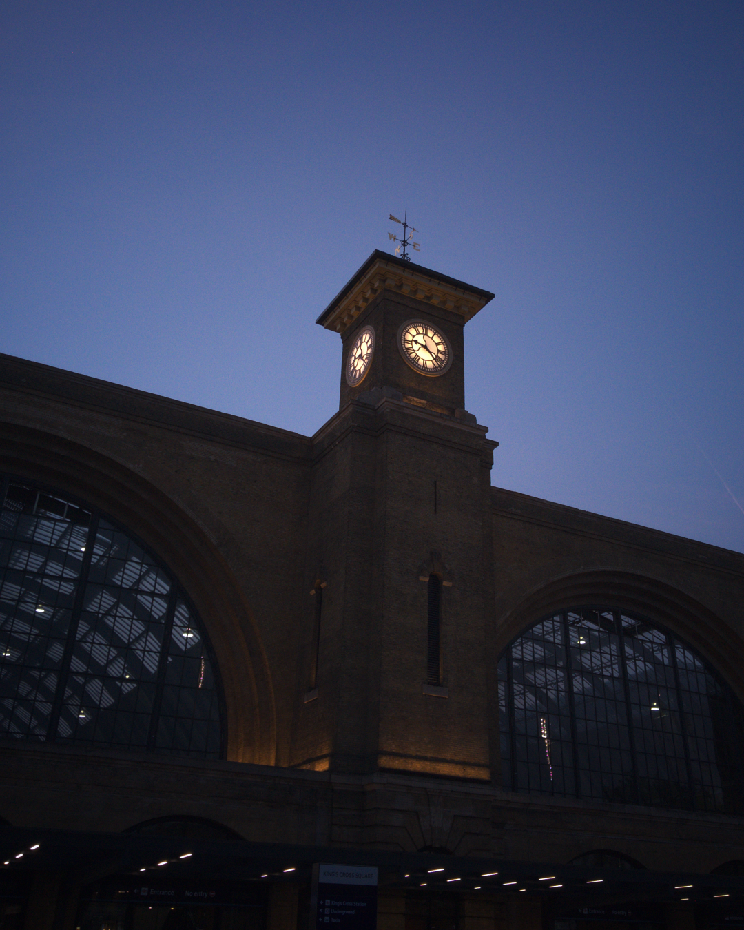 King's Cross station, London, photographed on 8 June 2016