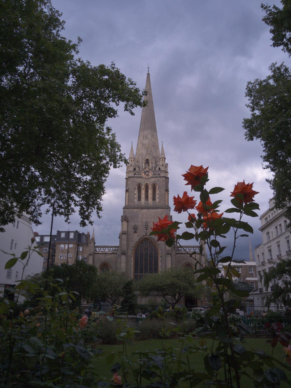 St James's, Paddington, London, photographed on 29 July 2016