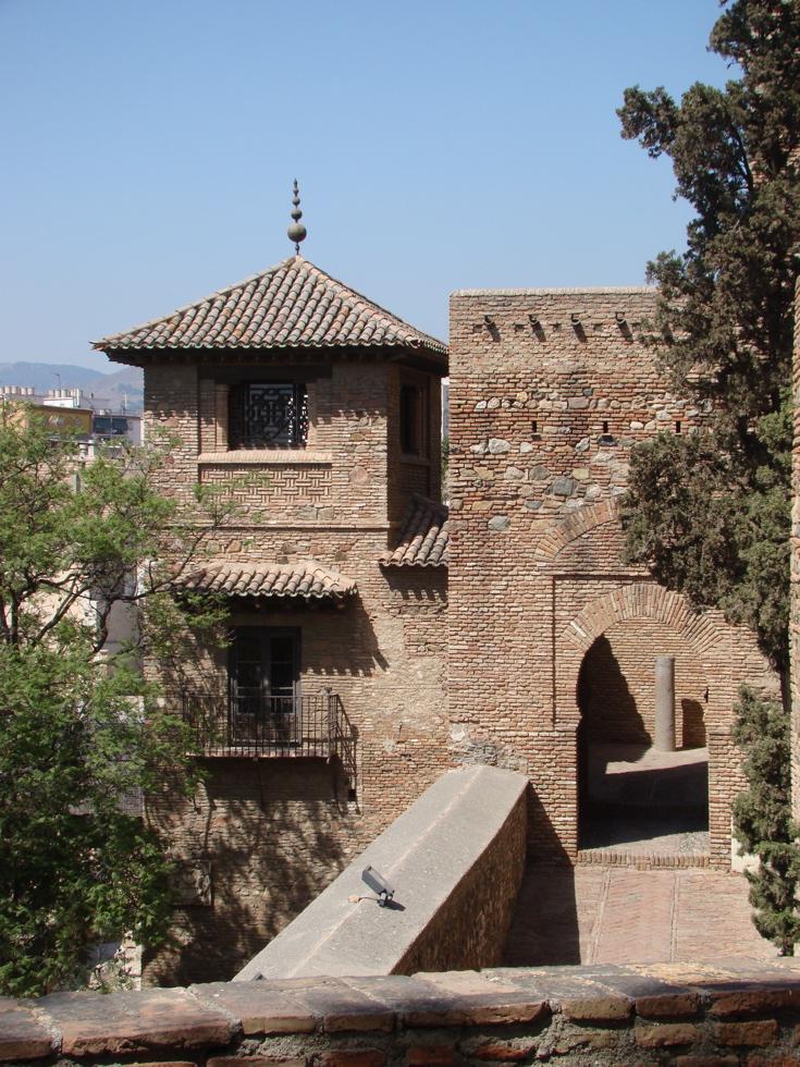 Photograph—Málaga │ Alcazaba │ Moorish fortification / castle