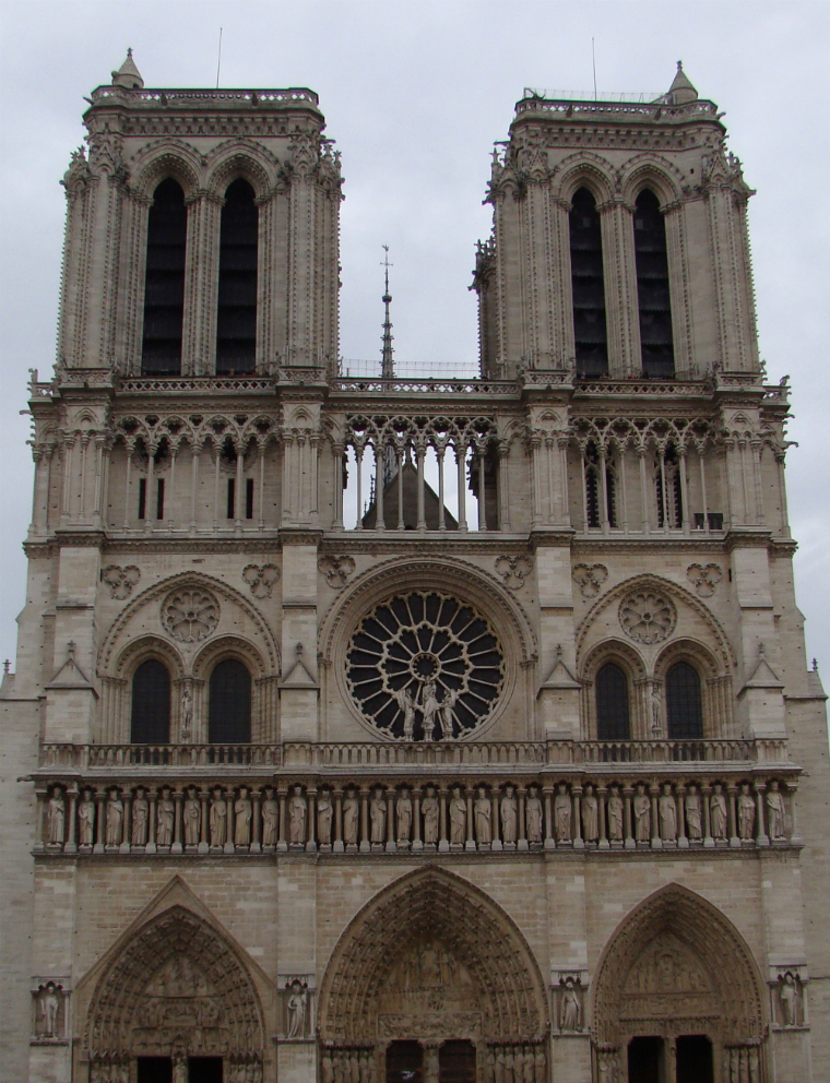 Photograph — Paris │ Notre Dame Cathedral — 29 October 2010
