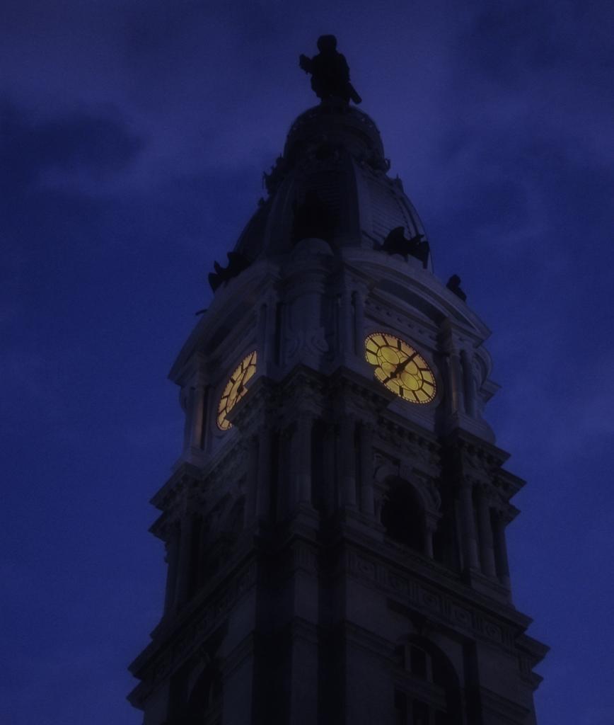 米国ペンシルヴァニア州フィラデルフィアの市庁舎