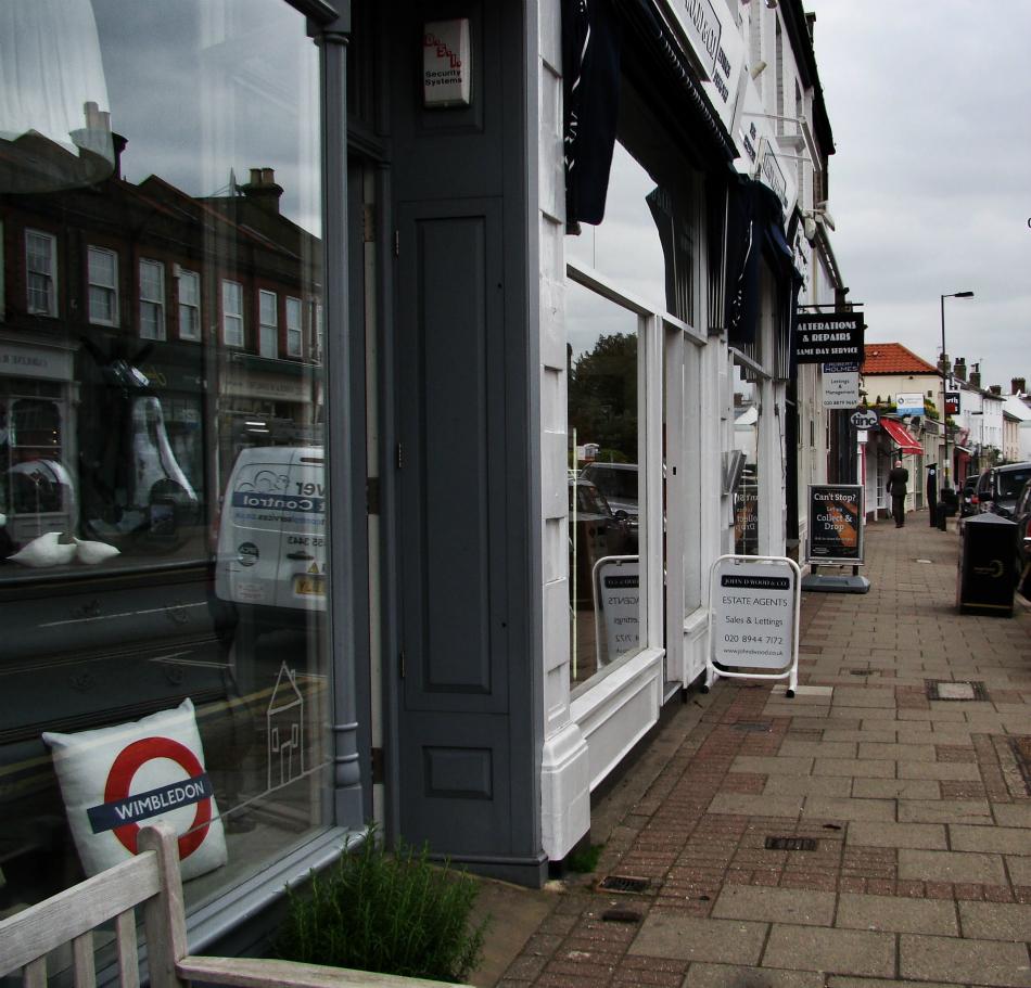 Photograph of Wimbldon Village
