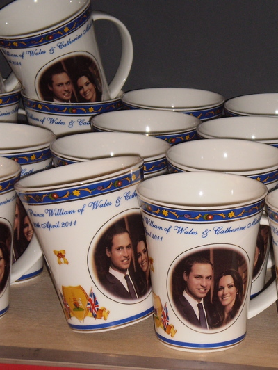 A mug celebrating the Royal Wedding (2), spotted 25 April 2011
