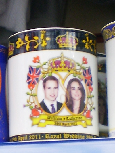 A mug celebrating the Royal Wedding (6), spotted 25 April 2011