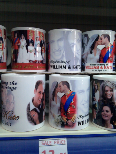 A mug celebrating the Royal Wedding (9), spotted 3 June 2011