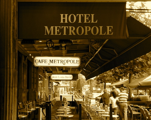 ブリュッセルのカフェ・メトロポルの写真