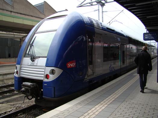 フランス国鉄の車両の写真|ルクセンブルク発ナンシー行(1)
