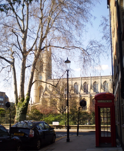 St Luke's Church in Chelsea, London (1/4)