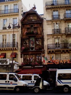 A McDonald's in central Paris