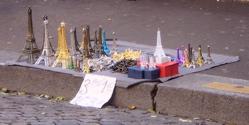 Trinkets (miniature Eiffel Towers), Paris