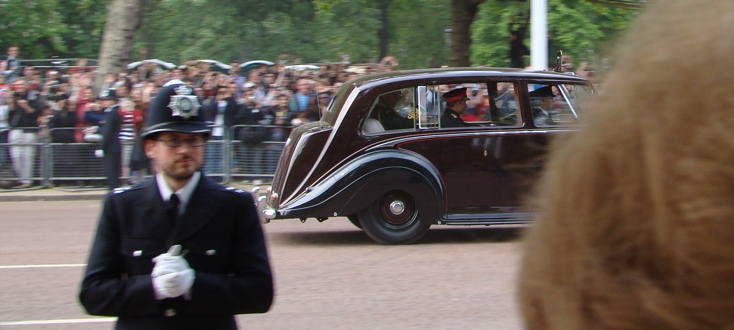 Prince Harry │ On his way from Buckingham Palace to Clarence House (1)