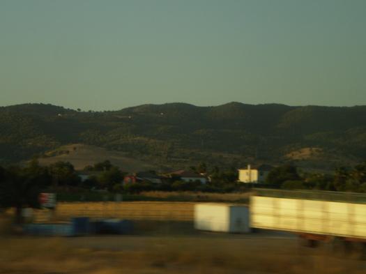 コルドバ・マラガ:高速列車での旅 過ぎ去る風景【1】