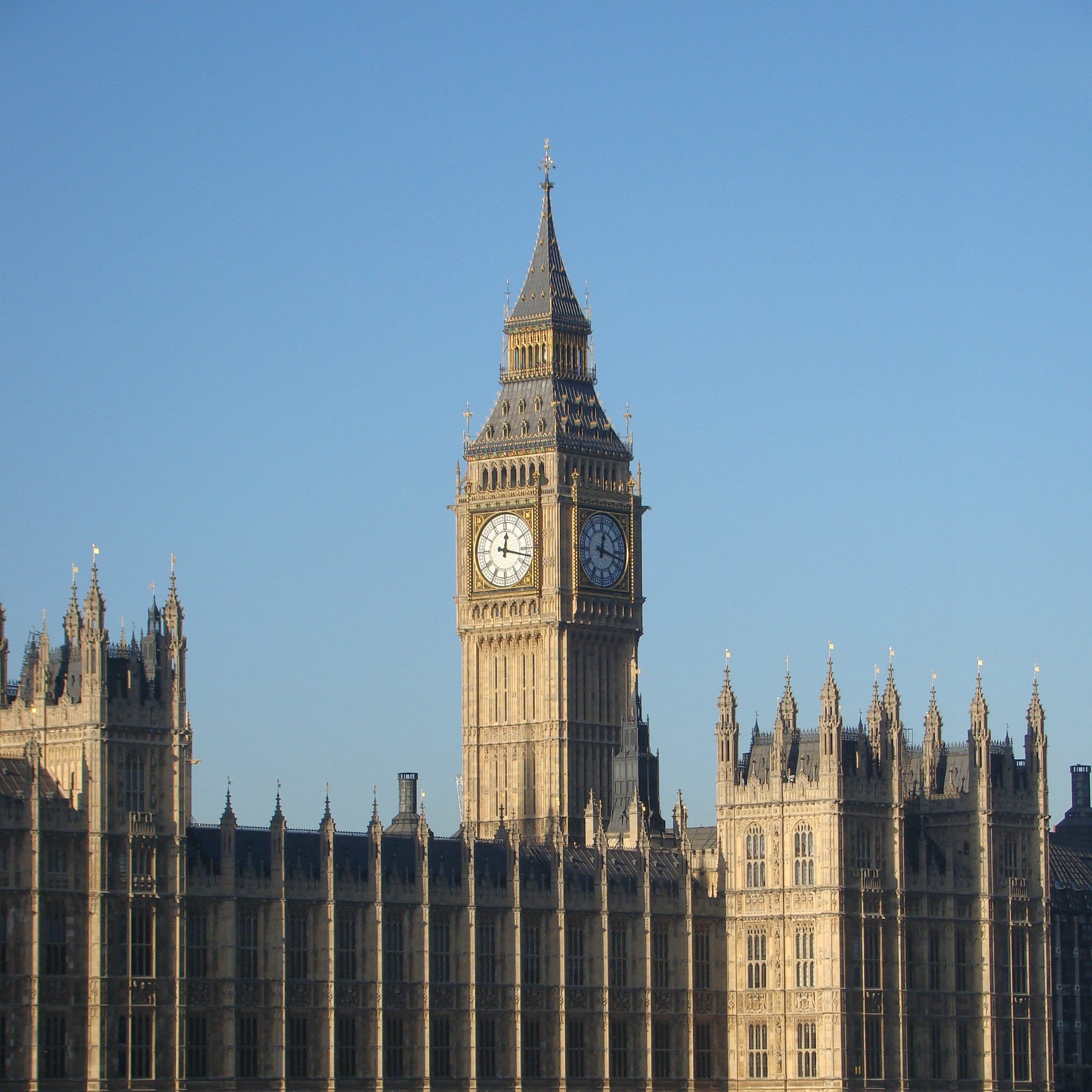 Stock images — 2048 × 2048 — London — 13 — Elizabeth Tower (Clock Tower), Palace of Westminster, London